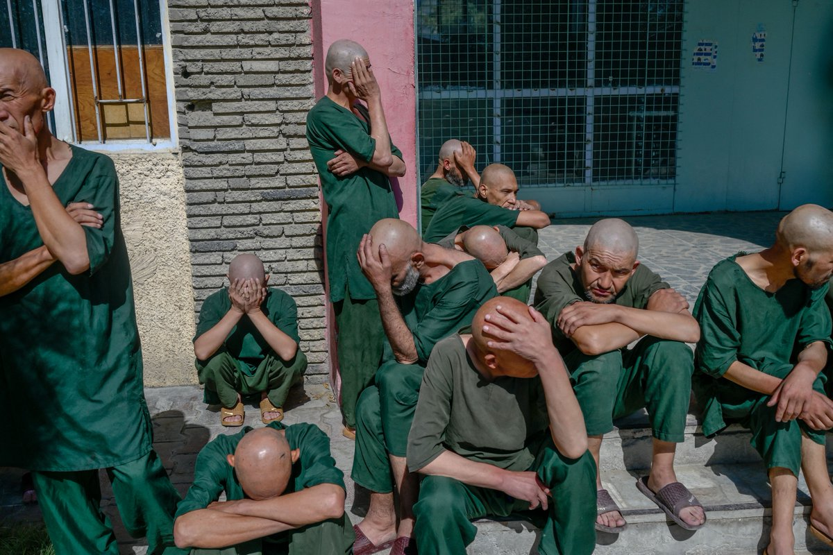 Under the Taliban's war on drugs in Afghanistan, hundreds of drug addicts in Kabul are being rounded up and forced into hospitals for a 45-day detox