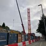 Our Torsion Students PBSA, Trapezium in Leeds had the tower crane erected over the weekend. The 91 high quality, boutique studios we will be constructing and operating are set to open in September 2022.#PBSA #studentaccommodation #DevelopConstructOperate