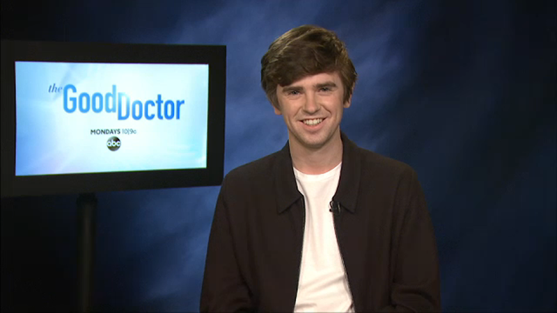 It's New Series time! @freddiehighmore and the rest of the brilliant cast of 'The Good Doctor' return tonight at 9pm on Sky Atlantic, where Shaun and Lea are the talk of the town...   @skytv #thegooddoctor