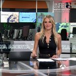 Image for the Tweet beginning: Angie Rigueiro. Deportes (noche) /