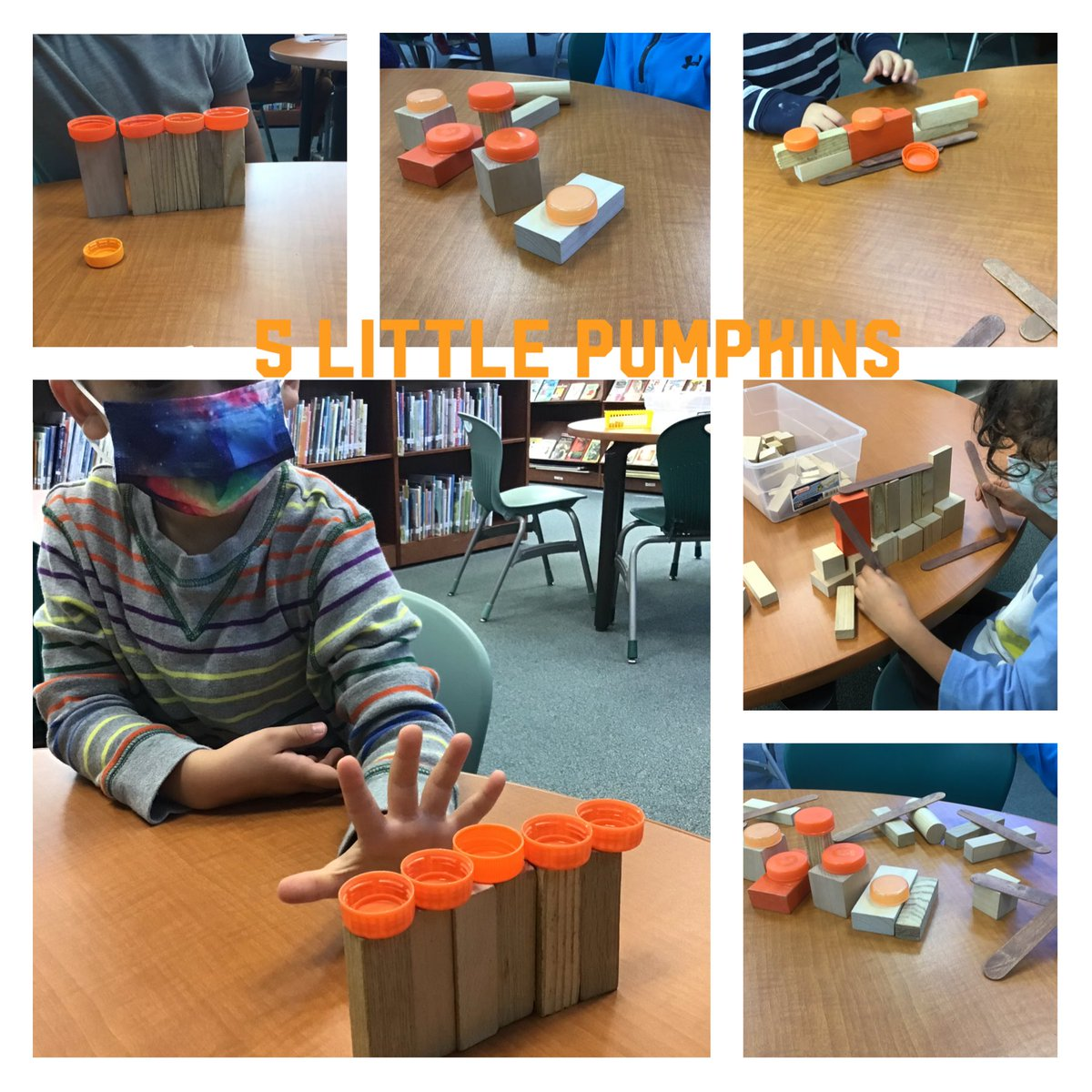 Pre-K students are building fences for their 5 Little Pumpkins! <a target='_blank' href='http://twitter.com/NTMKnightsAPS'>@NTMKnightsAPS</a> <a target='_blank' href='http://twitter.com/NottinghamPTA'>@NottinghamPTA</a>  <a target='_blank' href='http://search.twitter.com/search?q=ntmSTEAM'><a target='_blank' href='https://twitter.com/hashtag/ntmSTEAM?src=hash'>#ntmSTEAM</a></a> <a target='_blank' href='https://t.co/Cp3XsPoEPU'>https://t.co/Cp3XsPoEPU</a>