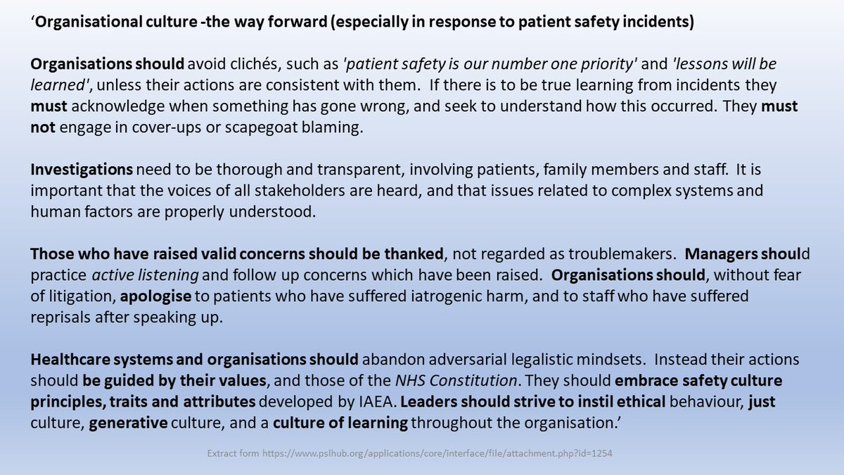 'Those who have raised valid concerns should be thanked, not regarded as troublemakers' Link to poster & comments ⬇️⬇️⬇️ pslhub.org/learn/culture/… ⬆️⬆️⬆️ #SpeakUpListenUpFollowUp #NHS #share4safety #NHS #PatientSafety #SpeakingUp #SpeakUpToMe #speakup #FTSU #FTSUG #SpeakUpMonth