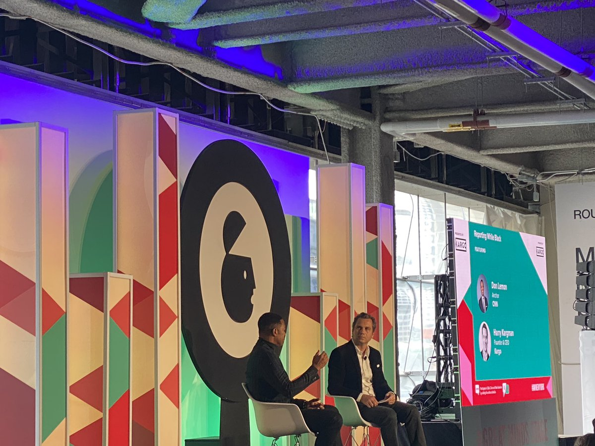 """""""I'm not crazy about political parties. I'm not a lefty. I'm not a righty. I'm American… I think we need to stop with the fringes of ideology. It's really holding us back."""" - @donlemon #AWNewYork"""