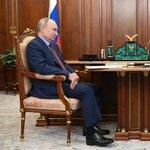 Image for the Tweet beginning: Vladimir Putin and Moscow Region