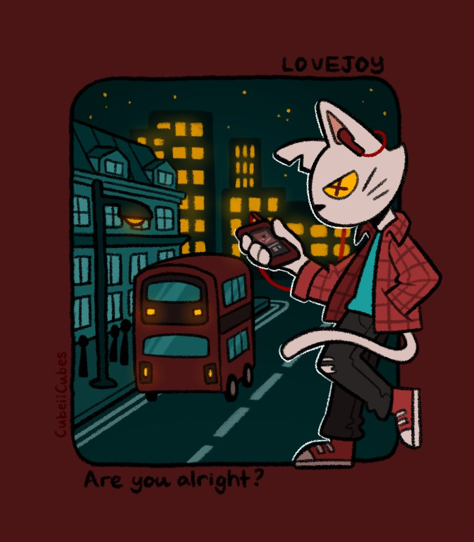 RT @CubeiiCubes: Anvilcat and Peebee! #lovejoy #lovejoyfanart #pebblebrain   [animated ver. under the thread :] https://t.co/Szey0p9TfA