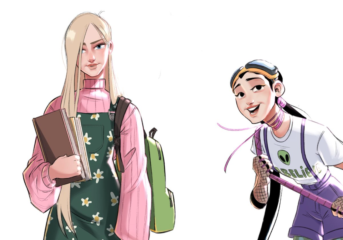 Repost of the W.I.T.C.H lineup from a few months ago 💜