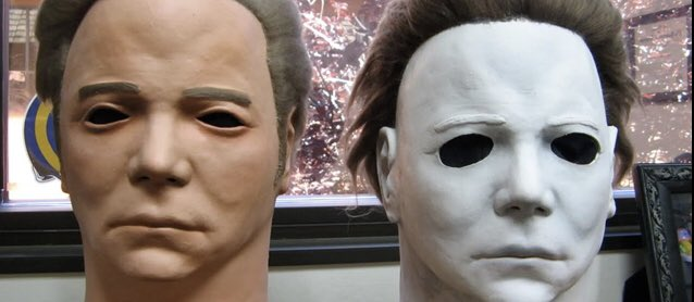 RT @ReeceShearsmith: October 18th. Michael's mask as it looked as the William Shatner mask... #halloweencountdown https://t.co/zhk22AovIV