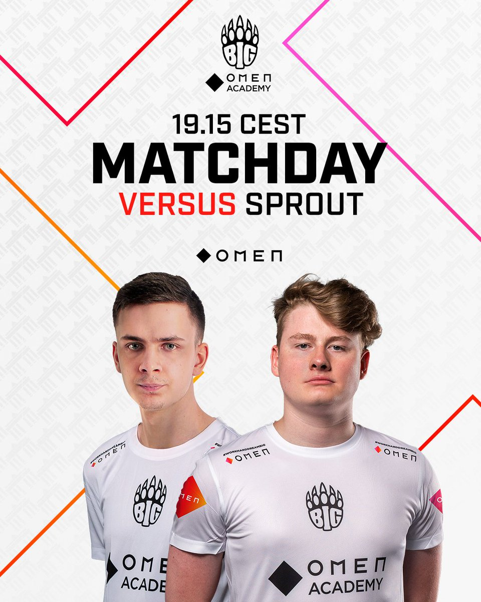 This should be fun! Our BIG. @OMENbyHP_de Academy is up against @sproutGG in the #ESLMeisterschaft! 🔥 📺 twitch.tv/esl_99damage