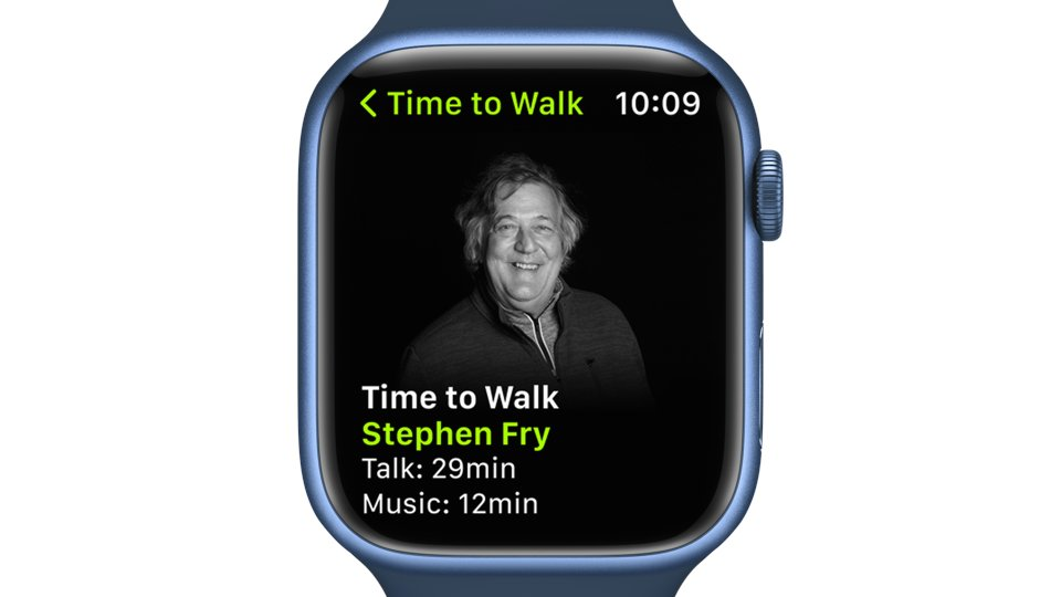 Why Apple Watch's Latest Time To Walk Is So Special