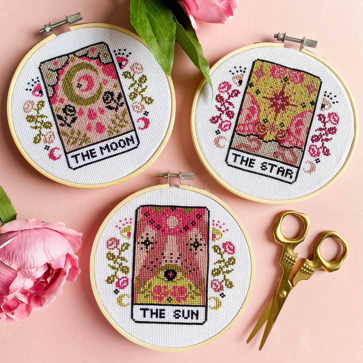 Absolutely psyched for the celestial cross-stitch kit I just ordered! 🔮✨ etsy.com/listing/104949…
