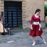 Image for the Tweet beginning: Alaia Belaunzaran harpa jotzaileak eta