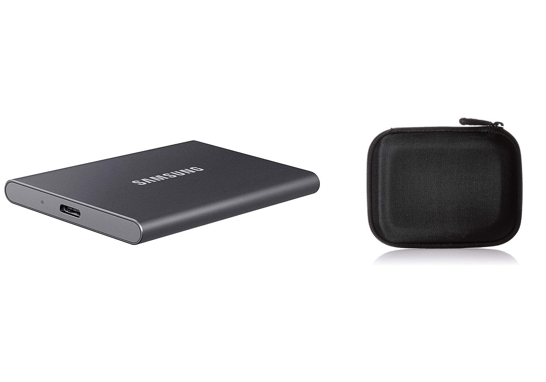 SSD externo Samsung T7 1 TB + Funda