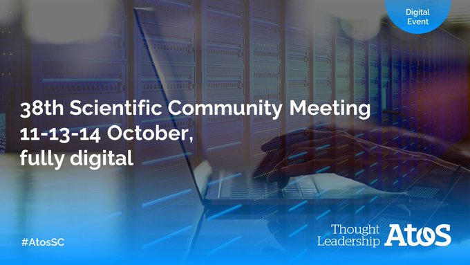 We are excited to welcome 18 new #AtosSC members during our 38th #ScientificCommunity...