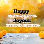 Image for the Tweet beginning: 🦃🍁 Joyeuse Action de Grâce! /// 🦃🍁
