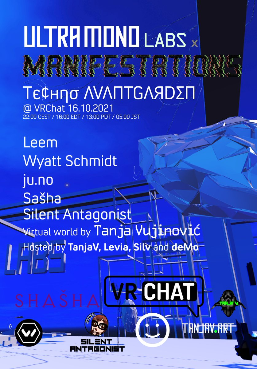 Flyer for Тє¢нησ ΛVΛПƬGΛЯDΣП at Ultramono LABS