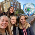 Introducing your new Pankhurst house leader team!! - Grace, Tilly, Amy & Bella💙💙