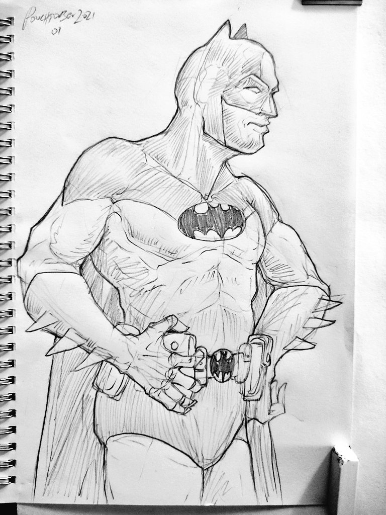 Batman! #pouchtober