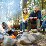 Fall is the perfect time of year to gather around a bonfire with loved ones. Before you strike a match, look up and look out: Never build a bonfire under a power line. Smoke and heat from a bonfire can damage wires, cause arcing, and potentially lead to wildfires.