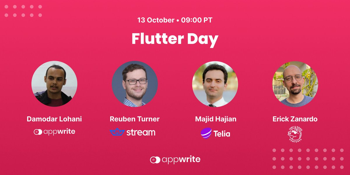 Join us for #Flutter Day this @hacktoberfest as we get started with cross-platform app development using #Dart and @FlutterDev with some amazing speakers from @getstream_io @TeliaCompany & @VGVentures 💝 🔗 RSVP linkedin.com/events/hacktob… #opensource #100DaysOfCode #Hacktoberfest