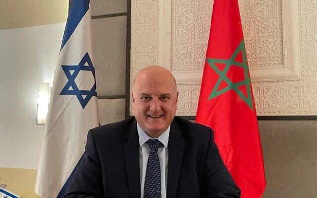 """رسميًا.. إسرائيل تعين رئيس بعثتها في المغرب """"دافيد غوفرين"""" سفيرًا لها لدى المغرب. كل التمنيات له…"""