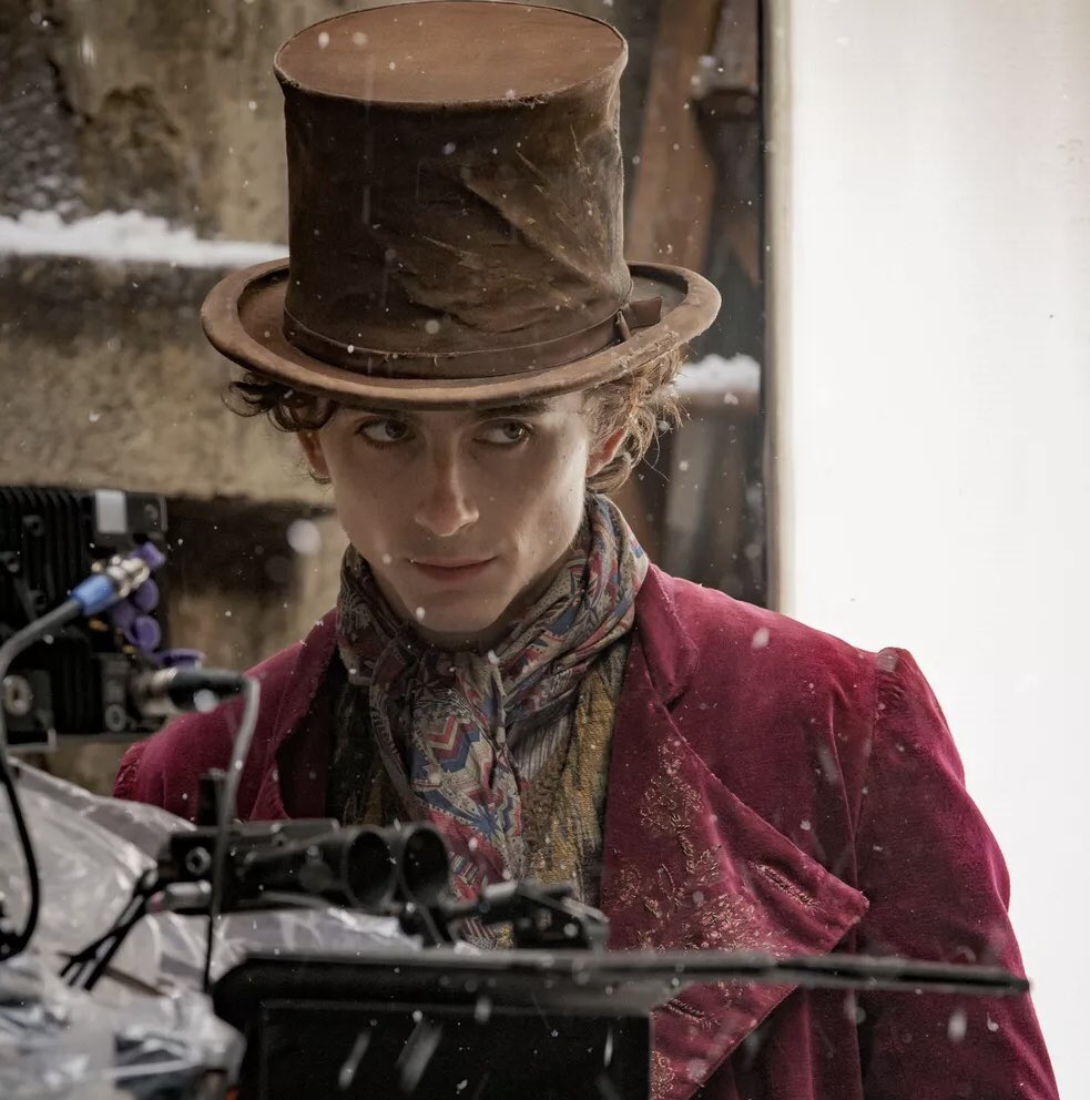 Timothée Chalamet como Willy Wonka em reboot de A Fantástica Fábrica de Chocolate - legadoplus
