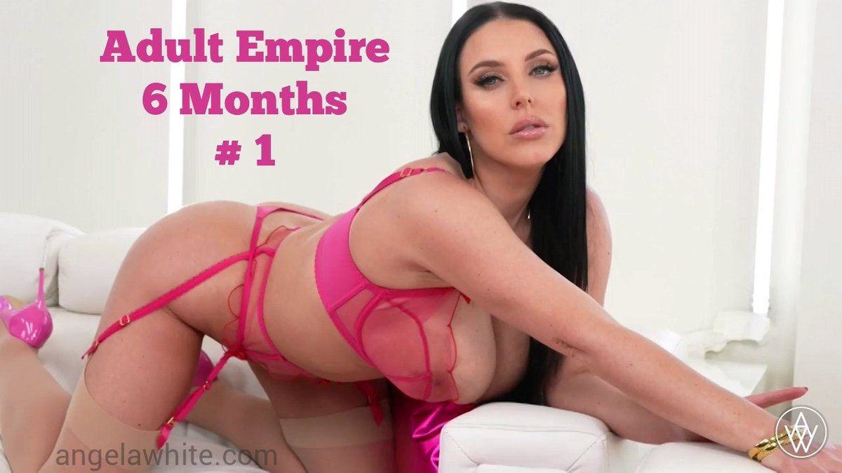 🙌 @ANGELAWHITE has been @adultempire's top attraction for 6 consecutive MONTHS 👏  🔥angelawhitestore.com🔥