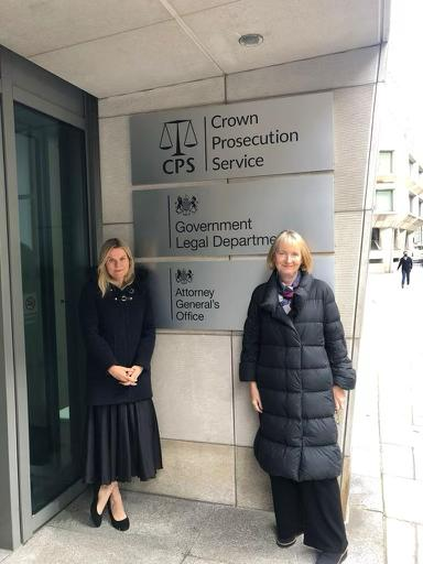 As Sam Pybus becomes the latest 'rough sex' killer to escape murder charge, @Laura__Farris & I complain to DPP about @CPSUK dropping murder charges @centreWJ @Wecantconsentto @VeraBaird