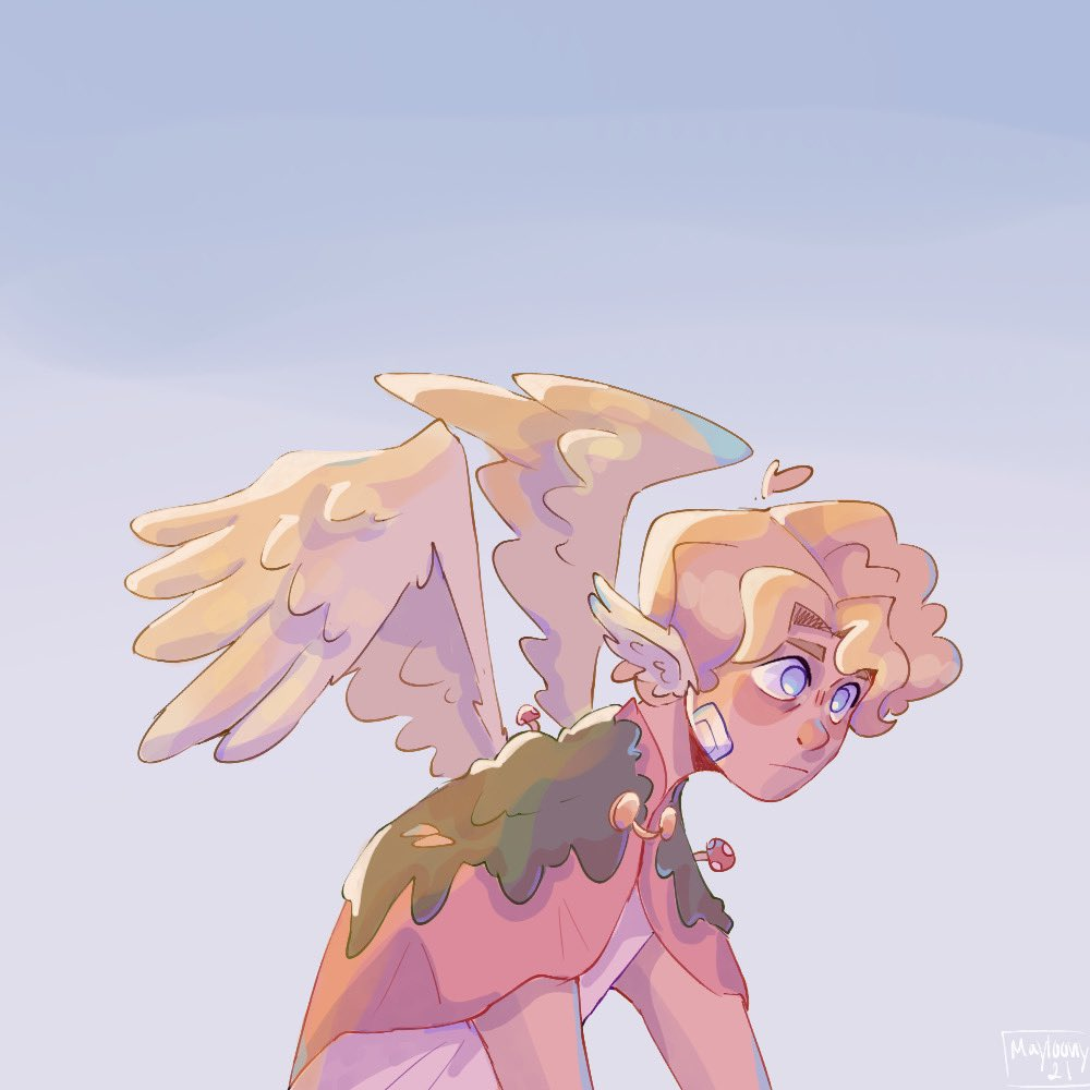 RT @Mayloony_: Icarus is flying to close to the sun. #tommyinnit #OriginSMP #originsmpfanart #tommyinnitfanart https://t.co/Shj2CLFmuo