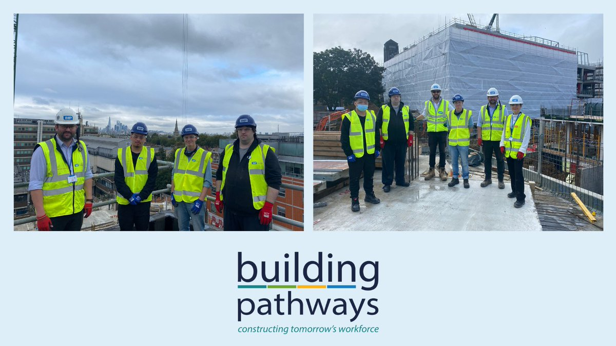 A huge thanks to @WeAreMcAlpine for another successful site visit at the end of our latest Building Pathways Academy programme. A fantastic opportunity to see behind the scenes of the construction of South London and Maudsley Hospital.   #ConstructionUK #Training #Jobs #Careers