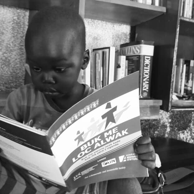 Or head over to the community library for a moment of peace and quiet and learning Luo culture in depth  #Reading #readAwrite #visitUganda #VisitOkere #TulambuleUganda #beauty #BeautifulUganda