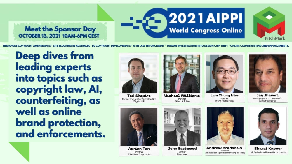 Thought leaders share IP insights with PitchMark at AIPPI World Congress https://t.co/iutPYZBVkU https://t.co/qxTKobSrQ2