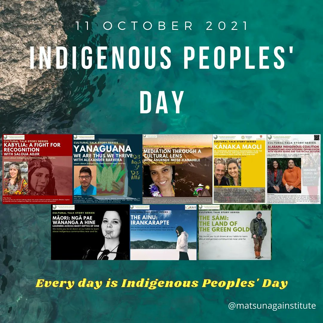 Image for the Tweet beginning: Everyday is Indigenous Peoples Day.