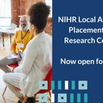 Image for the Tweet beginning: NIHR has launched the Local