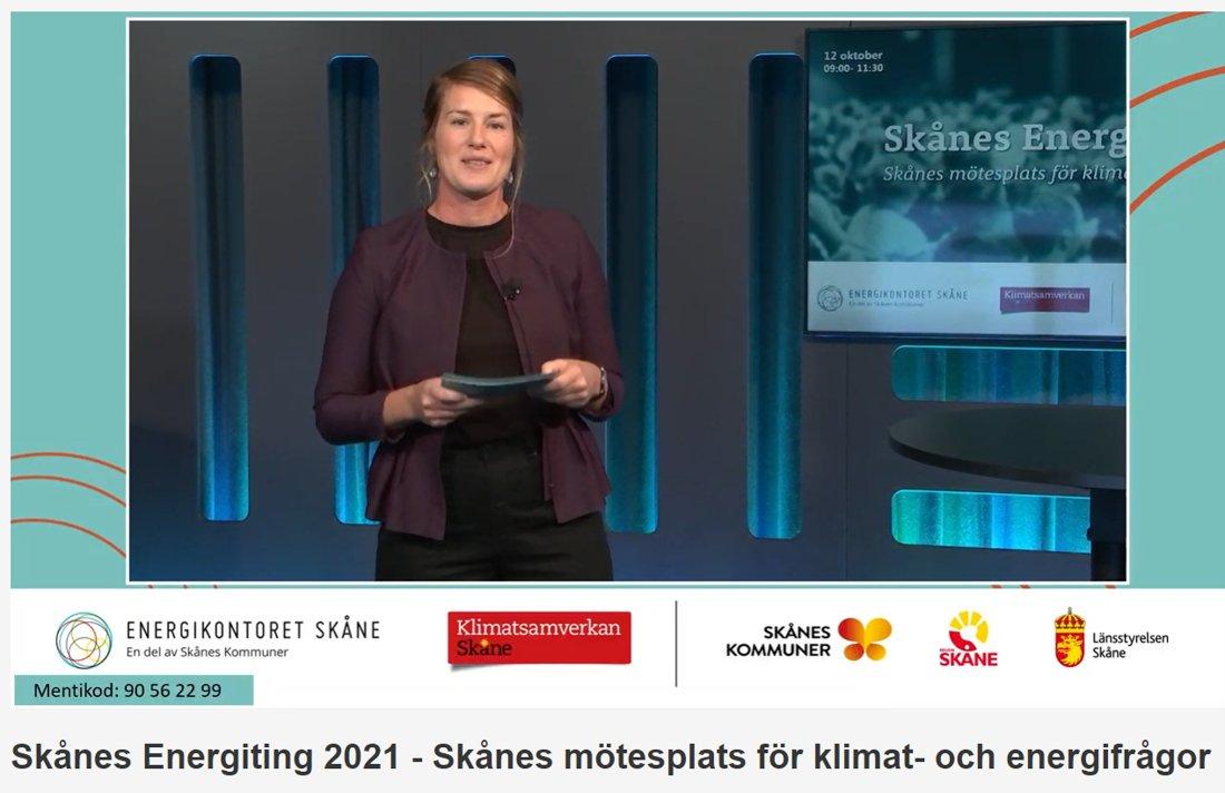 Hur löser vi klimatsmart el till alla, alltid? Den frågan ställs om en stund på #SkånesEnergiting2021. Ett mycket aktuellt ämne för södra Sverige. Och @JohanSvenningss vd @UniperSweden är på plats för att delta i paneldiskussion. #elsystem https://t.co/Y3vCww5Hqs