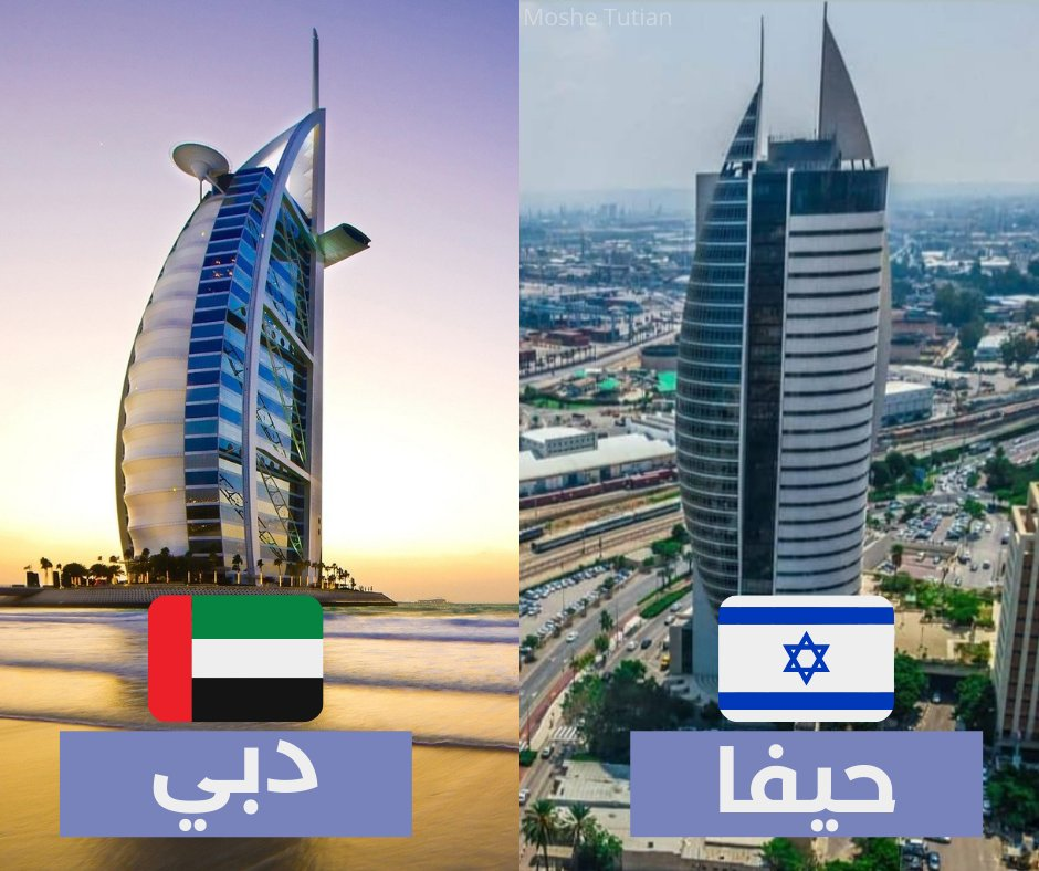 الامارات وإسرائيل دولتان فتيتان عنوان للهمم والنجاح