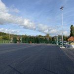 Image for the Tweet beginning: #3G pitch under construction at