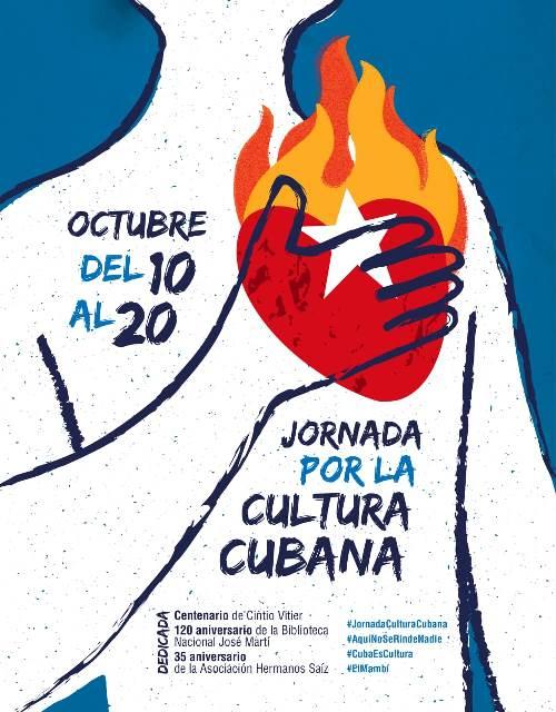 Jornada de Cultura Cubana del 10 al 20 de octubre de 2021