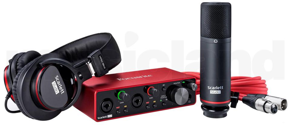Focusrite's Scarlett 2i2 Studio Bundle Is The Perfect Start For Musicians And Podcasters