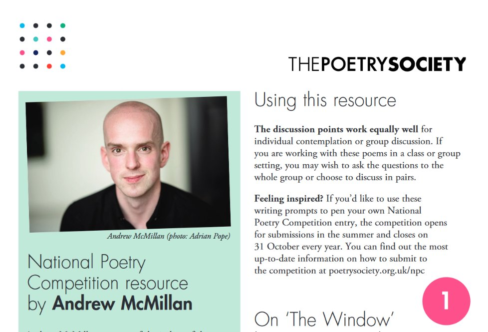 test Twitter Media - We've got a whole set of new writing guides, written by past prizewinners and judges from the #NationalPoetryCompetition. Take a look here - perfect for helping you kick off your entry to this year's competition. Still a couple of weeks to go!  https://t.co/g615wiS89w https://t.co/ZDJuMzgXmi