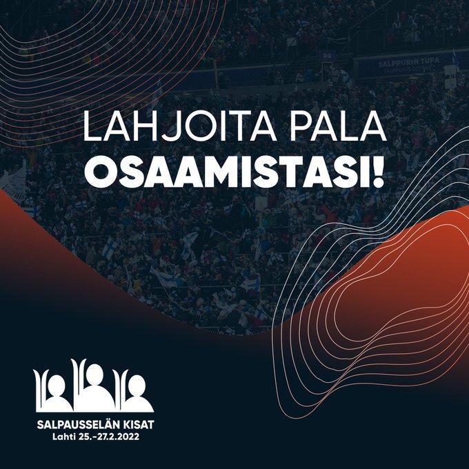 HEI SINÄ! ☝️Sinulla on osaamista, jolla rakennetaan Suomen suurin talviurheilutapahtuma....