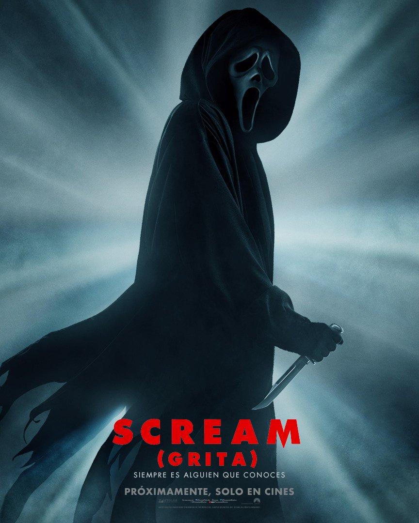 póster de Scream, 2022