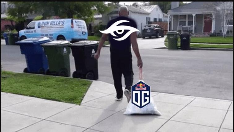 Secret and OG Beef: Trash has been taken out!