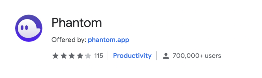 Phantom is adding 100,000 new users per week and we're not even on mobile yet! 🙀