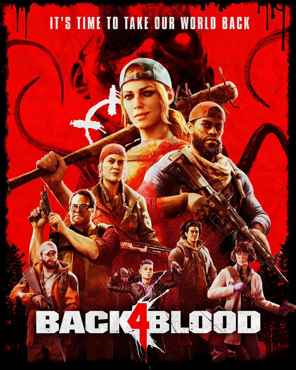 The Ridden made a mess of the world. It's time to clean it up! #Back4Blood