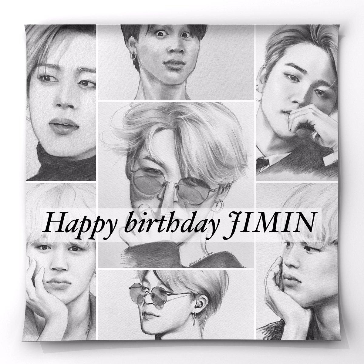 RT @ikkyu72: #HappyJiminDay  #HappyBirthdayJimin  #JIMINDAY   お誕生日おめでとう🎂 https://t.co/QKJ5tFqFJ1