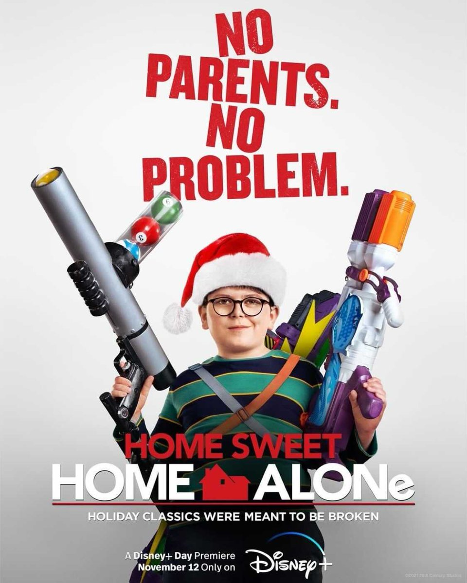 RT @RottenTomatoes: First poster for Home Sweet Home Alone - premiering Nov 12 on Disney+. https://t.co/28EgRv0idt