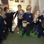 Image for the Tweet beginning: Today in Reception we learned