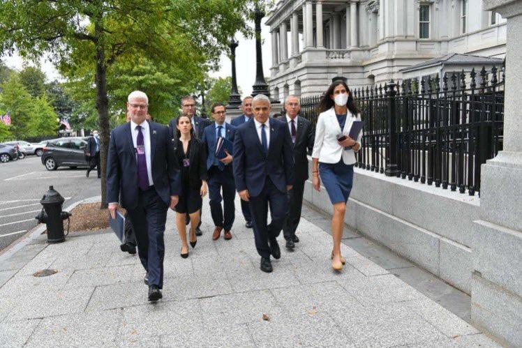"""المدير العام للخارجية @AlonUshpiz : """"وصلنا الى  واشنطن لاجراء سلسلة من"""