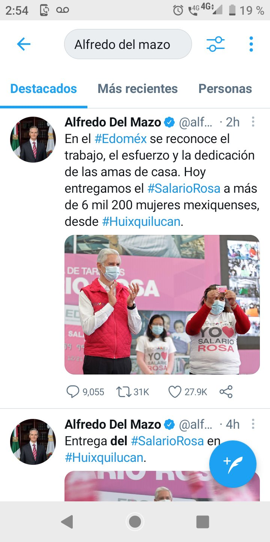 Alfredo del Mazo Twitter