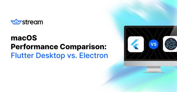 Desktop + speed 🔥 A comprehensive look at Flutter and electron desktop performance by @gordonphayes 🔗: gstrm.io/flutter-vs-ele… #flutterdev @electronjs